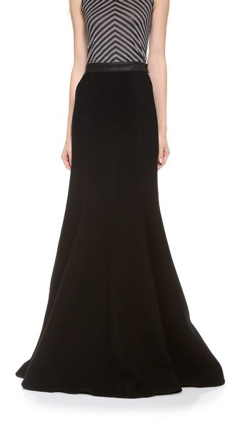 Gareth Pugh Shaped Long Skirt