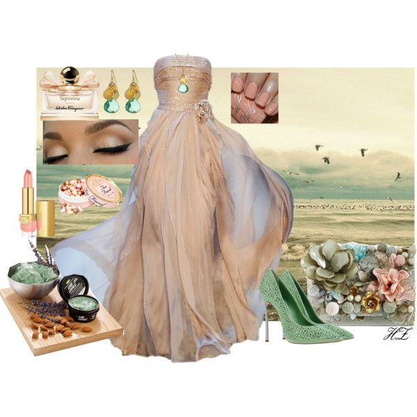 """""""Seaside Beauty"""" by cog-hz on Polyvore"""