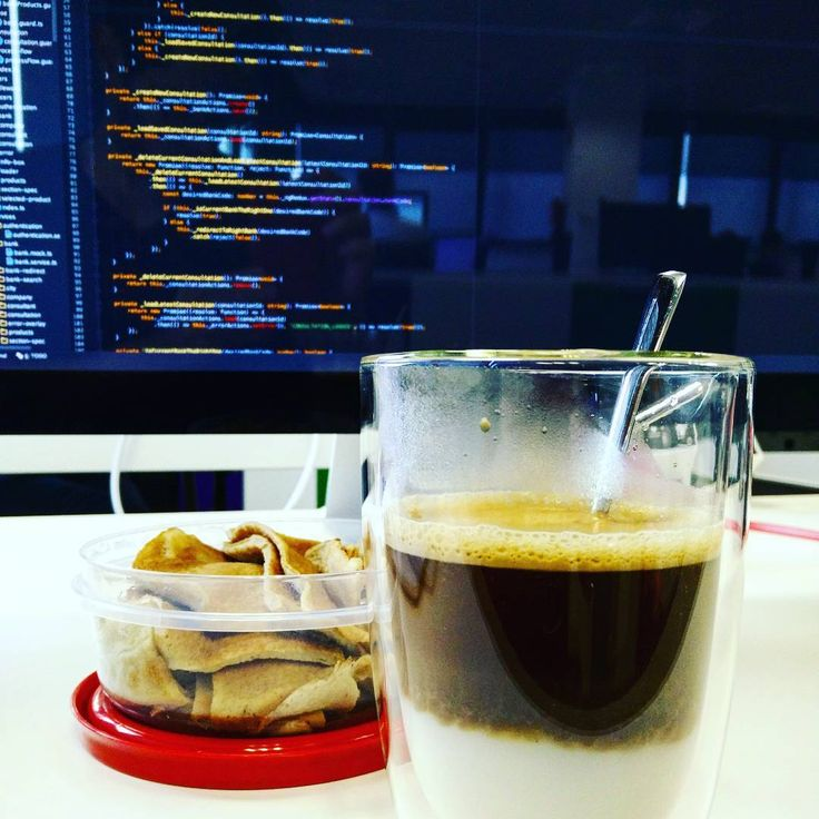 Best way to start the morning: Angular 2  pancakes and a big coffee ! #goodmorning #breakfast #gastronomy #gastropost #foodlove #foodlover #foodlovers #foodie #foodies #tasty #delicious #yum #yumiyumi #office #netcentric #poblenou #coffee #pancakes #oatmeal #oatpancakes #nespresso #angularjs #code #software #softwaredeveloper #webstorm #typescript #javascript