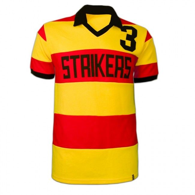 Fort Lauderdale Strikers voetbalshirt 1979   Dit voetbalshirt droeg George Best toen hij in 1979 bij de Fort Lauderdale Strikers speelde. Fort Lauderdale Strikers is een Amerikaanse voetbalclub die van 1977 tot en met 1983 uitkwam in de NASL (voorloper Major League Soccer). De club is meerdere keren opgeheven en opnieuw opgericht, het huidige elftal van de Fort Lauderdale Strikers speelt in de NASL, wat nu de tweede divisie is binnen de Amerikaanse voetbalcompetitie. In 1979 speelde George…