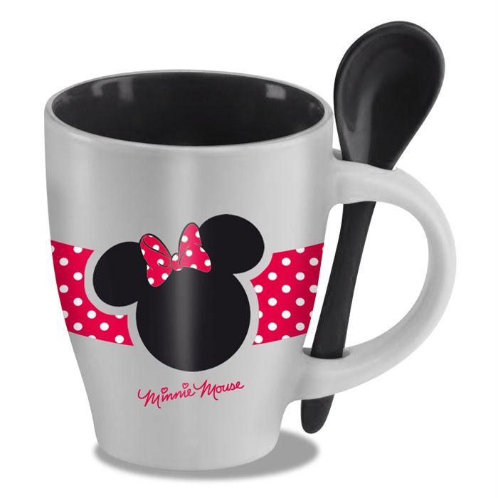 Disney - Mug avec cuillère Minnie - Achat / Vente BOL - MUG - MAZAGRAN MICKEY ET SES AMIS Disney -Mug - Cdiscount