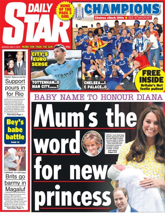 Newspaper headlines: Election scenarios and baby reaction - BBC News