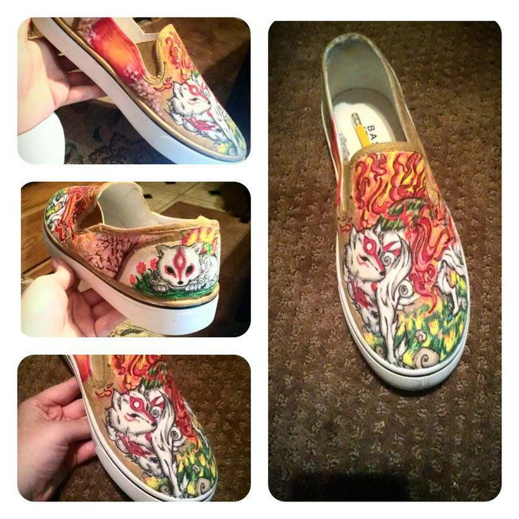 For the love of Amaterasu, I want those shoes.