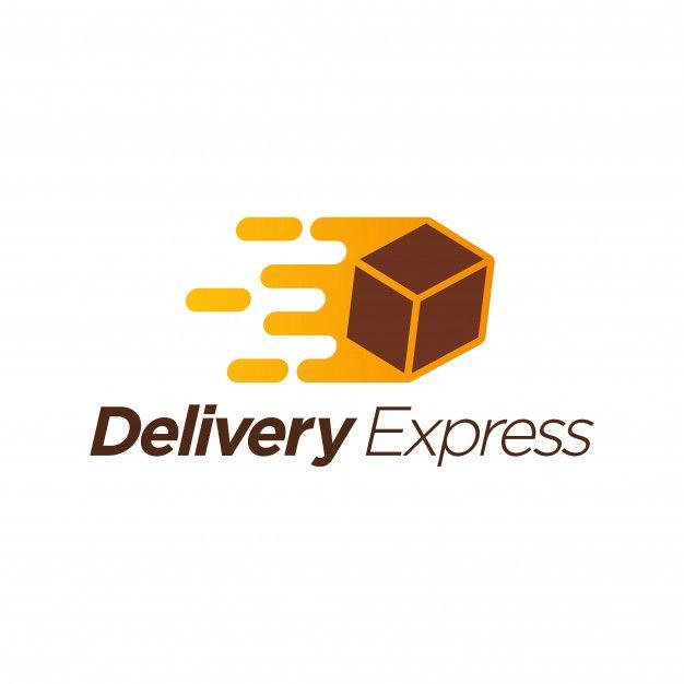 Delivery Express Logo Template Premium V Premium Vector Freepik Vector Background Logo Templates Express Logo Transportation Logo