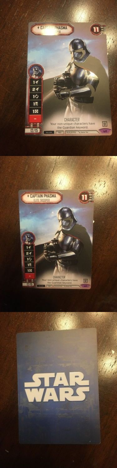 CCG Individual Cards 183454: Star Wars Destiny: Full Art, Acrylic, Captain Phasma Store Championship Promo -> BUY IT NOW ONLY: $59.99 on eBay!
