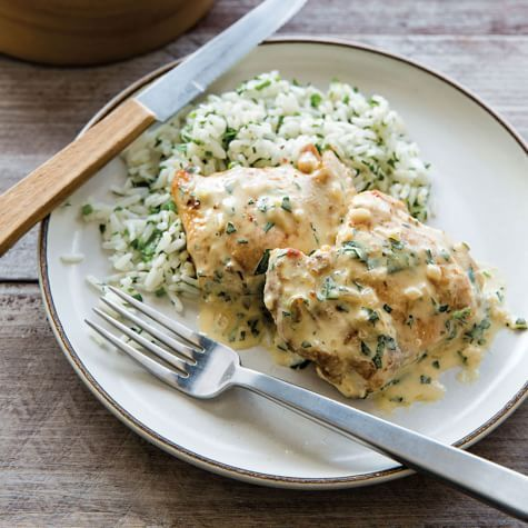Sautéed Chicken with Mustard-Tarragon Cream Sauce | Williams Sonoma