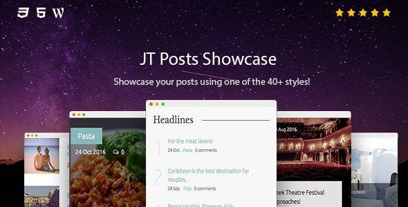 JT Posts Showcase - Price $18