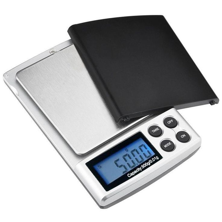 500g x 0.01g Digital Pocket Scale with LCD display Gold Silver Jewelry Weight Balance Weighing Tool