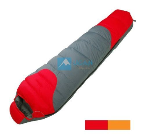 Camping-White-Duck-Down-Mummy-Sleeping-Bag-20-10-0-Centigrade-Degree-Celsius