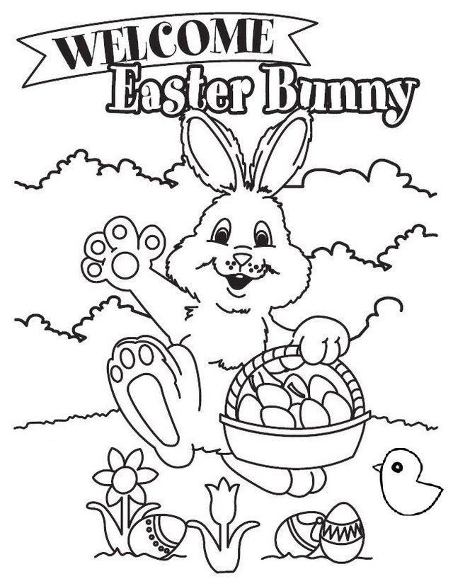 Charming Easter Bunny Coloring Pages Bunny Coloring Pages Easter Coloring Pages Printable Easter Coloring Pages