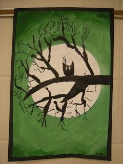 Halloween Art: Value