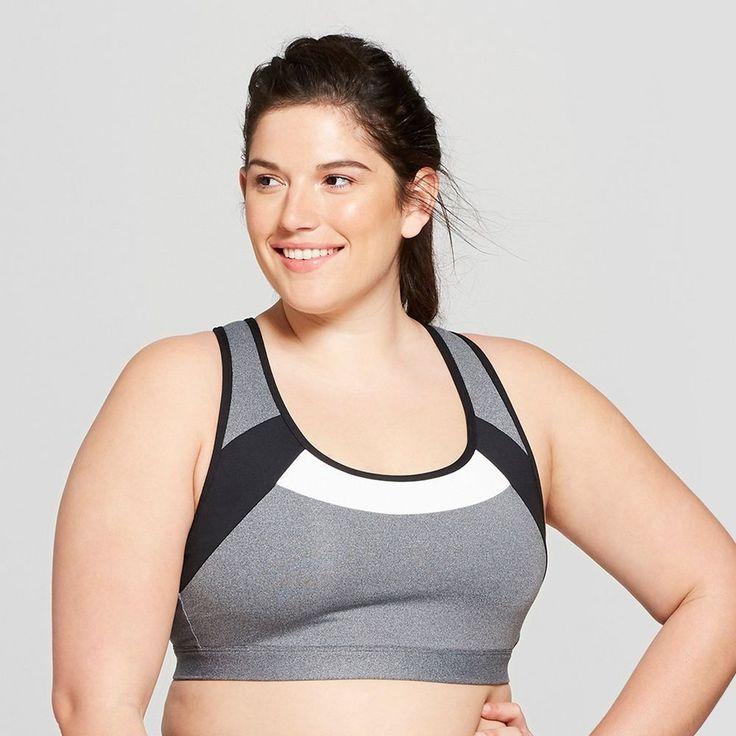 Women's Plus Size Strappy Back Sports Bra C9 Champion