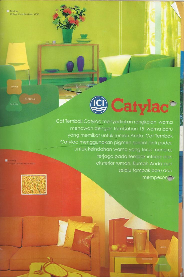 12 Best Brosur Catylac Colour Card Images On Pinterest Bedroom