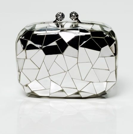 Silver clutch #carteras #bag in #modaoperandi