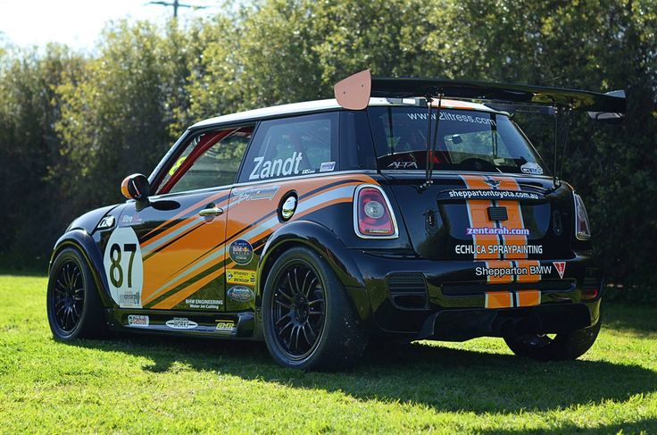 Mini R53 And R56 Carbon Rear Wing Cars Wings And Race Cars