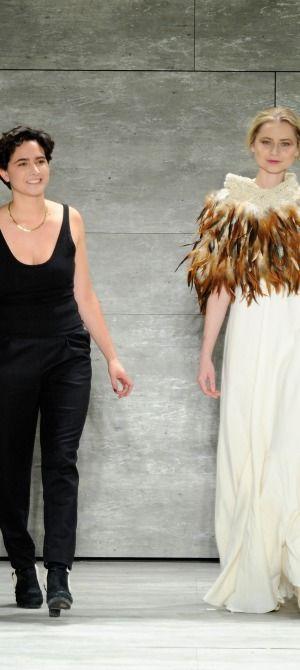 NY: Lupe Gajardo - Mercedes-Benz Fashion Week Fall 2015