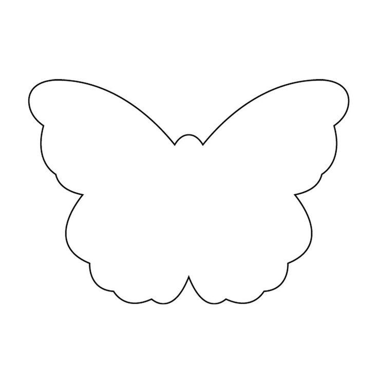 Butterfly Stencil Template - Eliolera - butterfly template