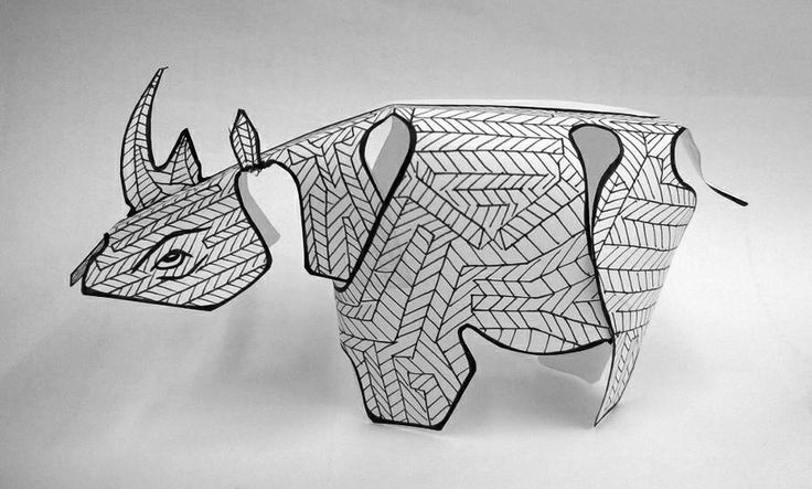 Francois Pretorius - VISI Rhino Model for the VISI4Rhinos campaign at http://www.visi.co.za/rhino #rhino