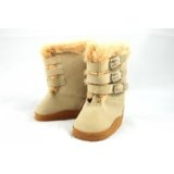 Tan Buckle Boots for American Girl Dolls and Most 18 Inch Dolls (Toy)