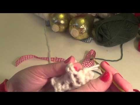 Αστέρι εκρού υπέροχο με το βελονάκι !!! - YouTube