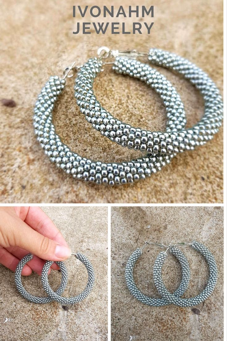 250 best IvonaHMJewelry - Handmade gifts, beaded crochet necklace ...