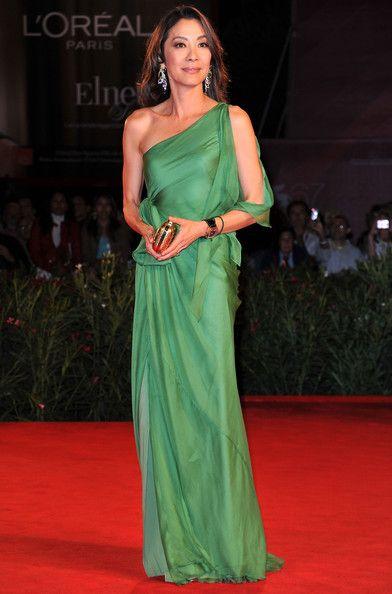 Michelle Yeoh Evening Dress - Michelle Yeoh Looks - StyleBistro