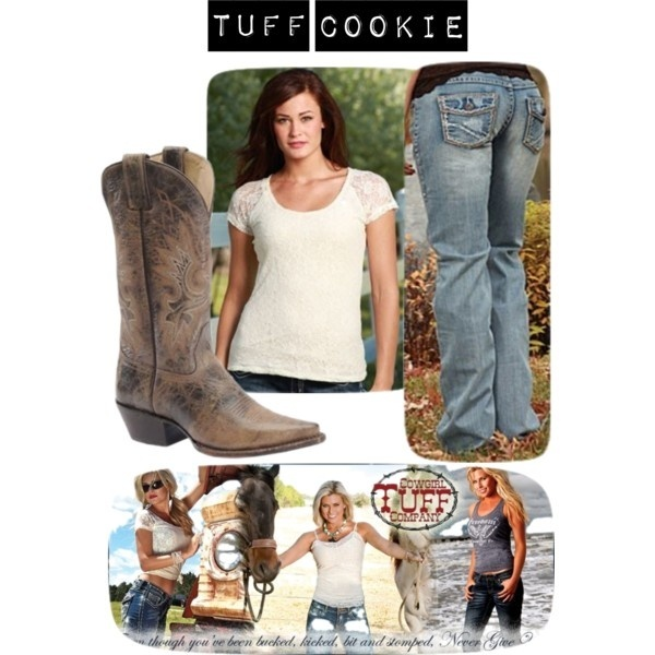 Tuff Cookie outfit by Cowgirl Tuff Co.  Sold from RCC Western Stores
