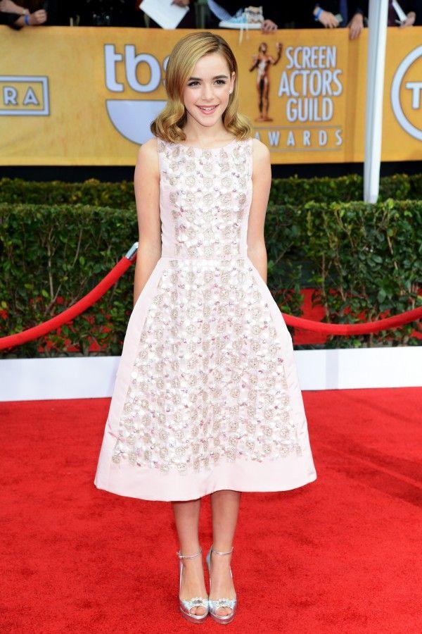 Oscar de la Renta: In Honor Of a Legend | The Zoe Report Kiernan Shipka, Screen Actors Guild Awards January 2013
