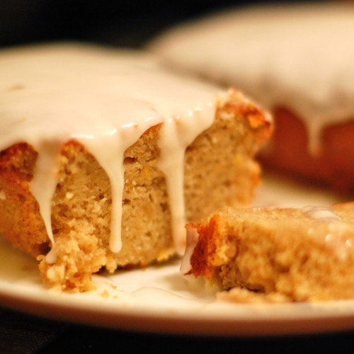 Gingerbread Loaves with Lemon Glaze | Recipe