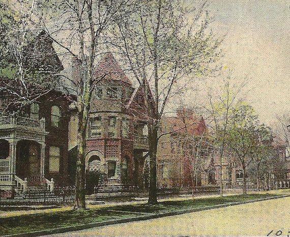TORONTO Vintage Postcard Jarvis Street Stately by TheOldBarnDoor, $3.50