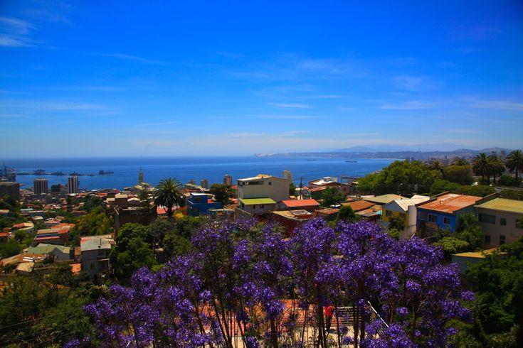 View from La Sebastiana - Neruda's house in Valparaiso