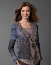 Catalogue Femme  Concept 1 Automne / Hiver | 25: Femme Veste | Bleu foncé-Bleu-Gris / Gris pierre
