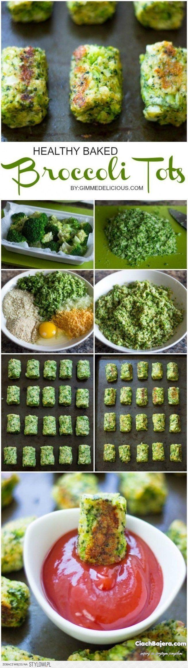 Zdrowa brokułowa przekąska   Składniki / Sposób przygot…