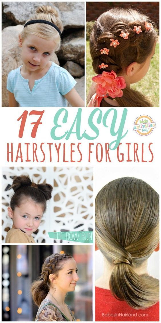 17 Lazy Hair Ideas for Girls-If you have a toddler, check out our toddler hair…