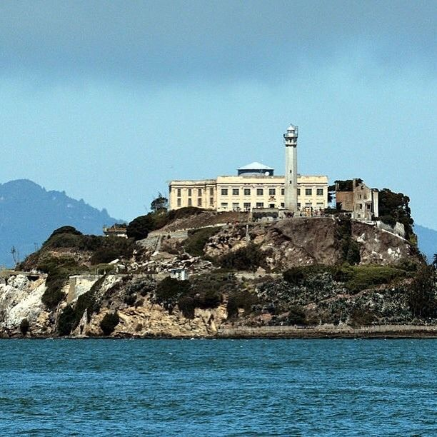 Alcatraz Federal Penitentiary #sanfrancisco #sf #bayarea #alwayssf #goldengatebridge #goldengate #alcatraz #california