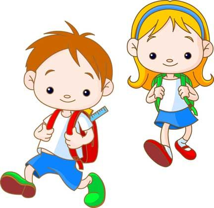 Kids At School Cartoon - Google Търсене