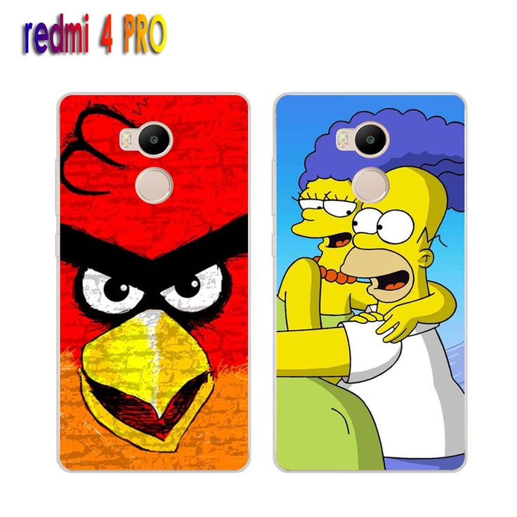 Xiaomi redmi 4 pro Case,Silicon Popular Cartoon Painting Soft TPU IMD Back Cover for Xiaomi redmi 4pro Transparent Phone Bags