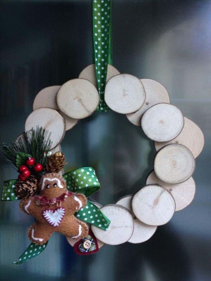 ghirlanda per la porta christmas wreath