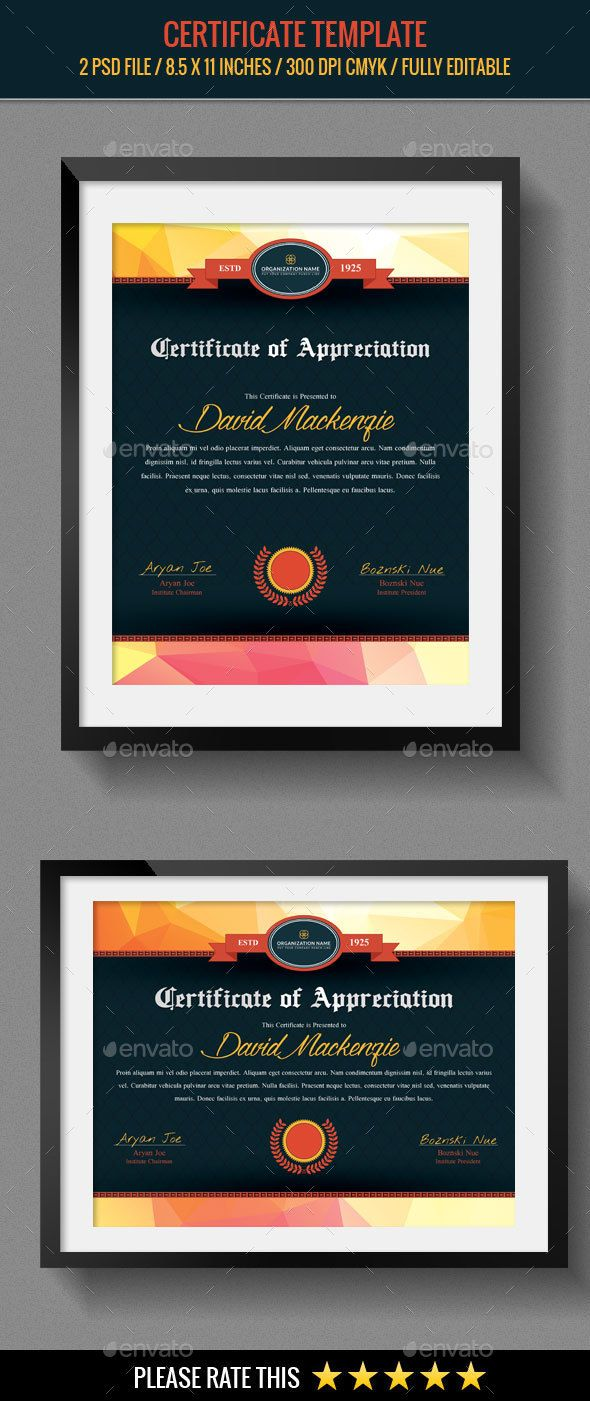 31 best psd templates certificate design images on pinterest psd multipurpose certificates template yadclub Choice Image