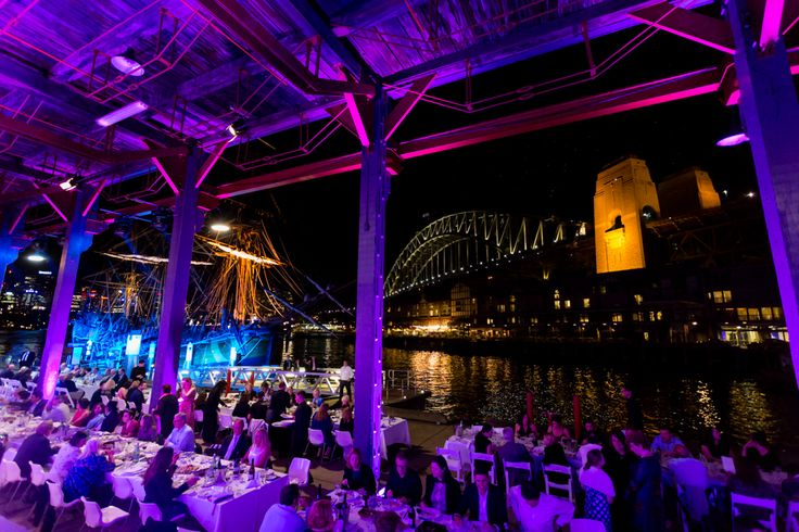 Walsh Bay Arts Table 2015 with Walsh Bay Arts and Commerce, Gondwana Choirs and Simmer on the Bay. Diabolique Photography