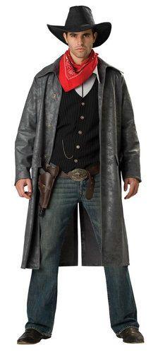 Montana's Outlaw Mens Cowboy Costume