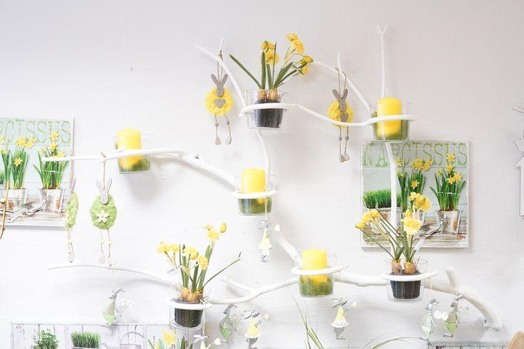 #Wanddeko DYI Idee für den Frühling