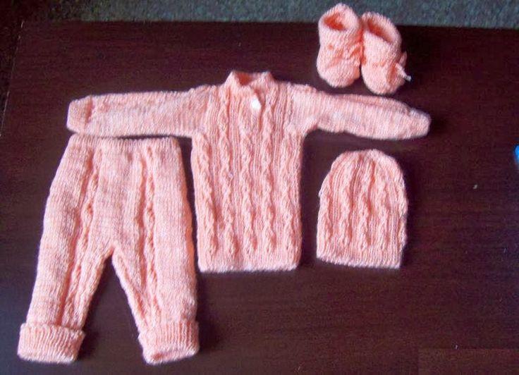 Conjunto para bebé prematuro
