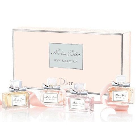 Christian Dior 4pc Miss Dior Scent Collection (W)