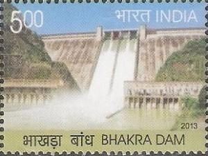 StampedeBeta - Stamp Profile - Bhakra Dam on new Indian stamp | Stampnews.com