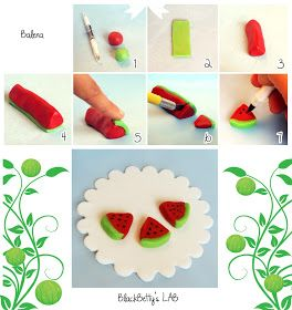 Mini Watermelon Slices Picture Tutorial