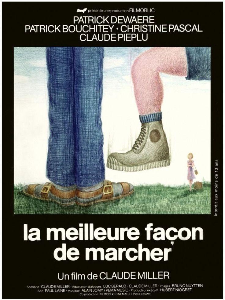 La meilleure façon de marcher: Patrick Dewaere, Patrick Bouchitey, Christine Pascal, Claude Piéplu, Marc Chapiteau, Michel Blanc,...