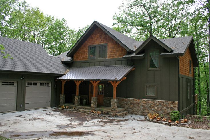1000 images about cottage exteriors on pinterest lakes for Craftsman log homes
