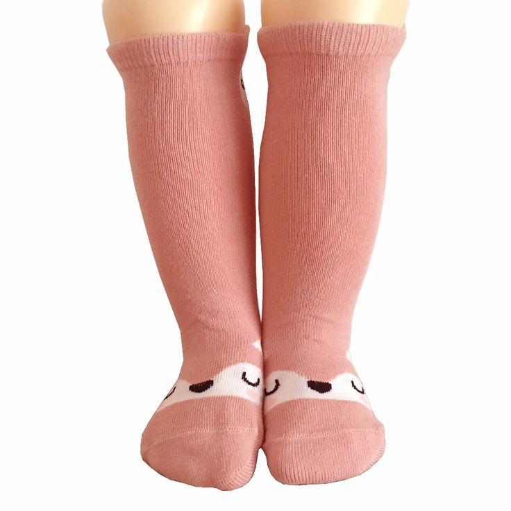 >> Click to Buy << Newborn Toddler knee high sock Baby Boy bebe Girl fox Socks anti-slip cotton Cartoon Animal Cat leg warmers For newborns infant #Affiliate