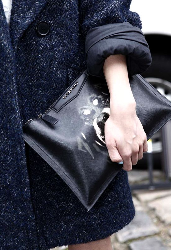 The Rottweiler clutch available on #montaignemarket.com
